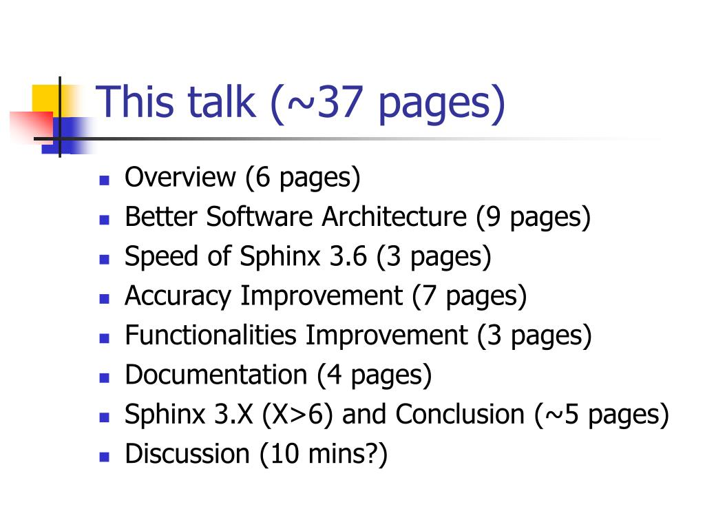 This talk (~37 pages)