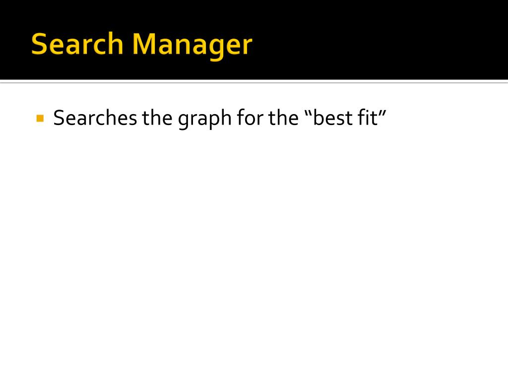 Search Manager