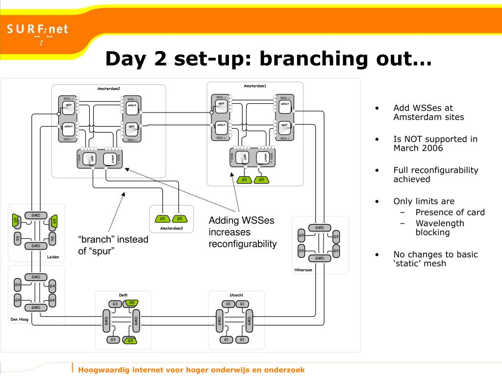 Day 2 set-up: branching out…