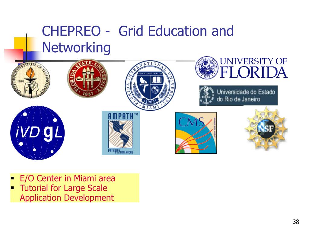 CHEPREO -  Grid Education and Networking