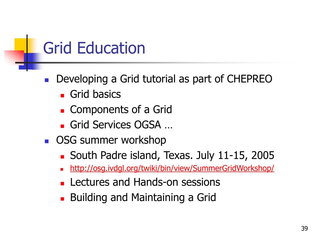 Grid Education