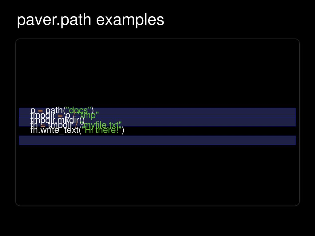 paver.path examples