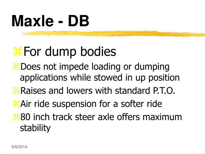 Maxle - DB