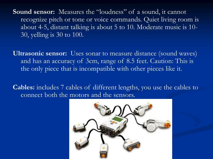 Sound sensor: