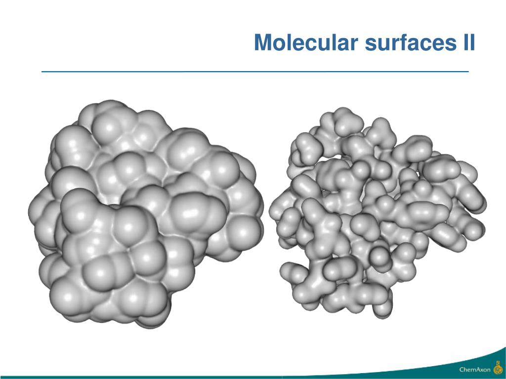 Molecular surfaces II