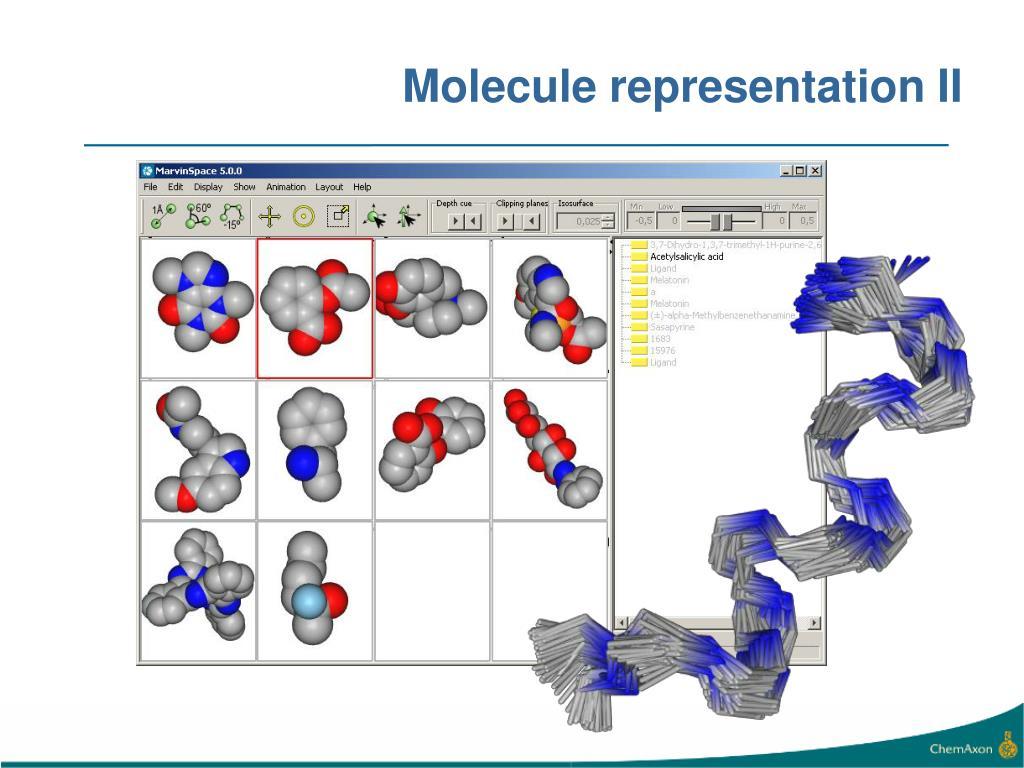 Molecule representation II