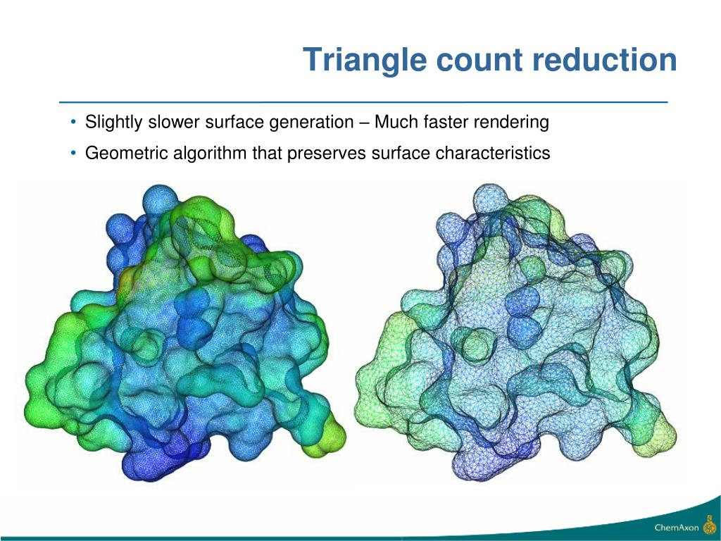 Triangle count reduction