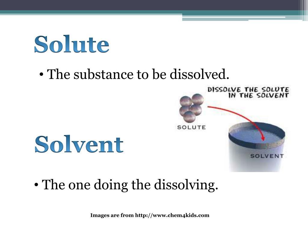 Solute
