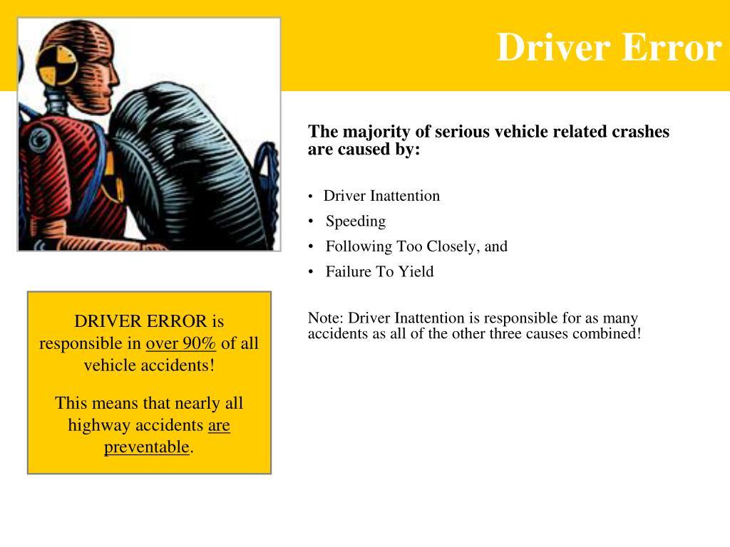 Driver Error