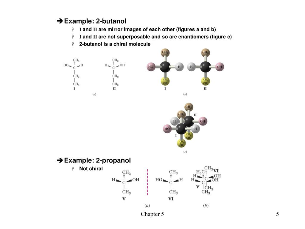 Example: 2-butanol