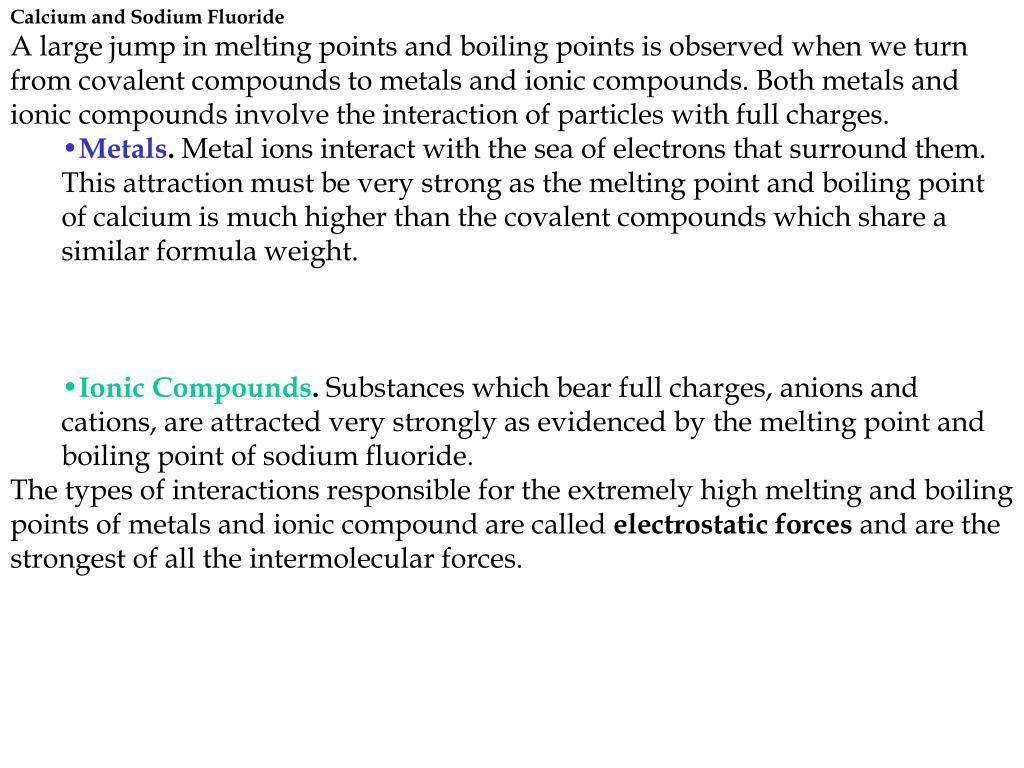 Calcium and Sodium Fluoride