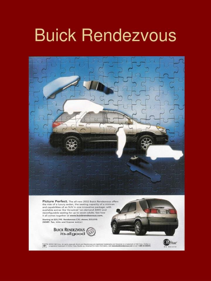 Buick Rendezvous