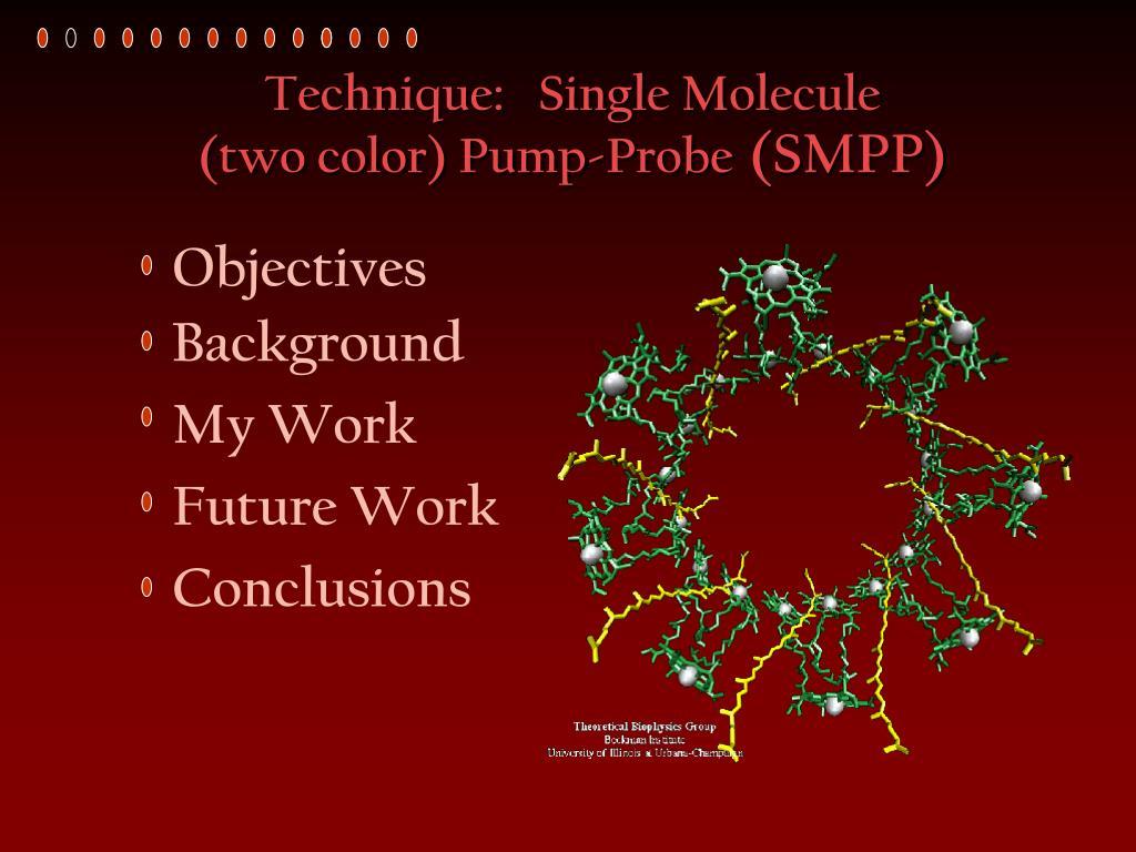 Technique:   Single Molecule