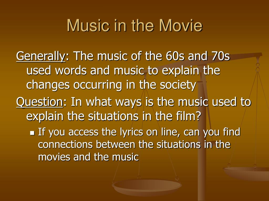 Music in the Movie