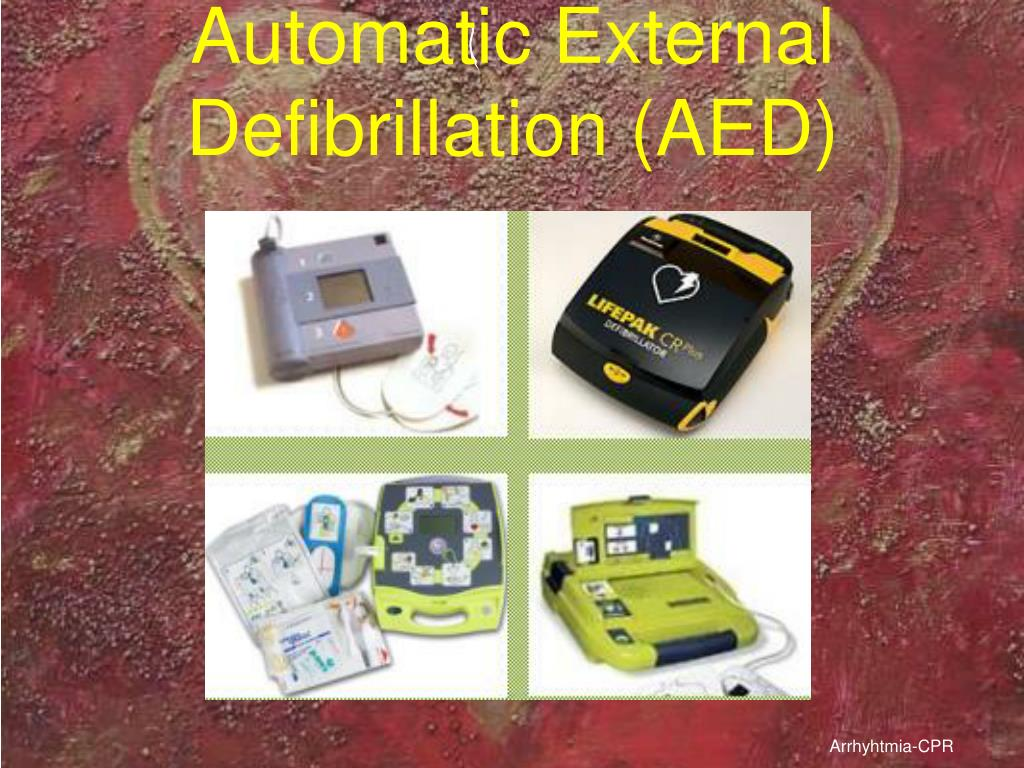 Automatic External Defibrillation (AED)