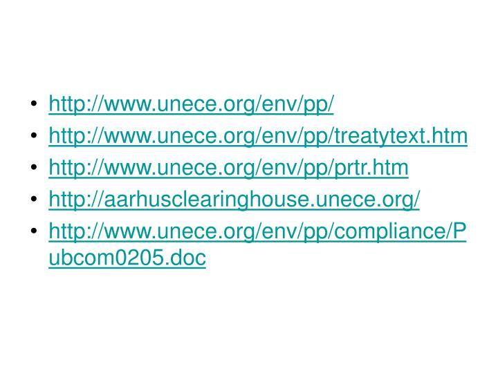 http://www.unece.org/env/pp/