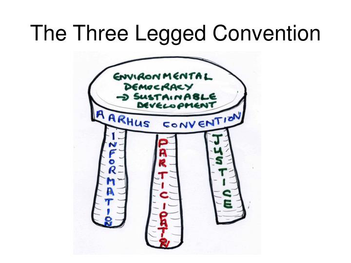 The Three Legged Convention