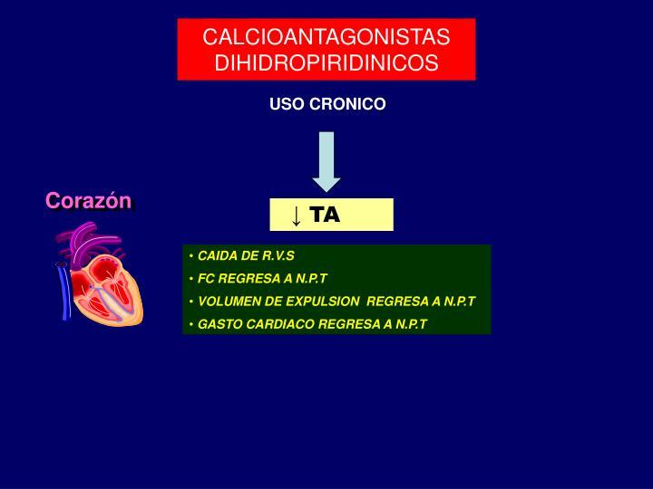 PPT - Calcioantagonistas en el tratamiento de la