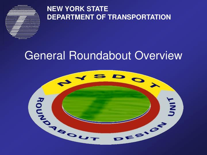 General roundabout overview
