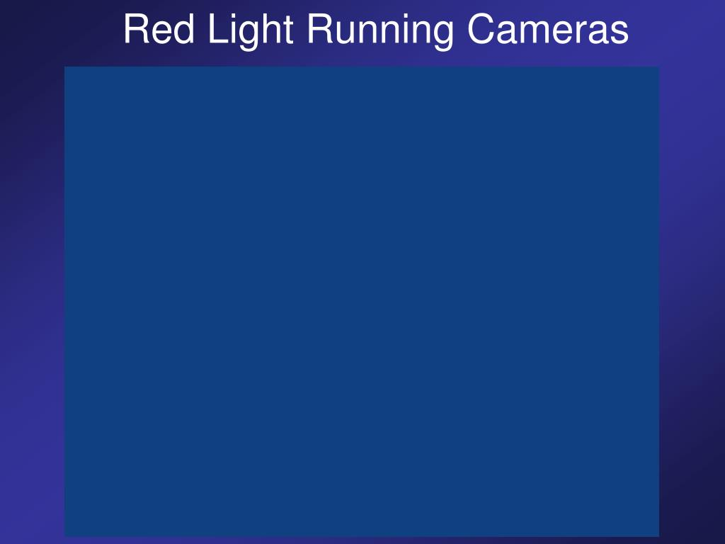 Red Light Running Cameras