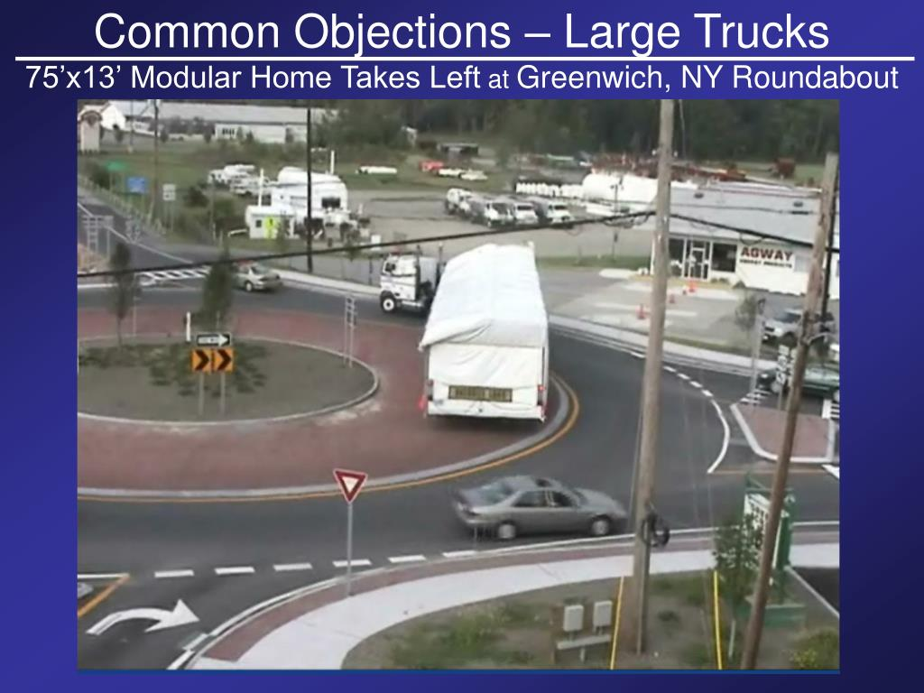 Common Objections – Large Trucks