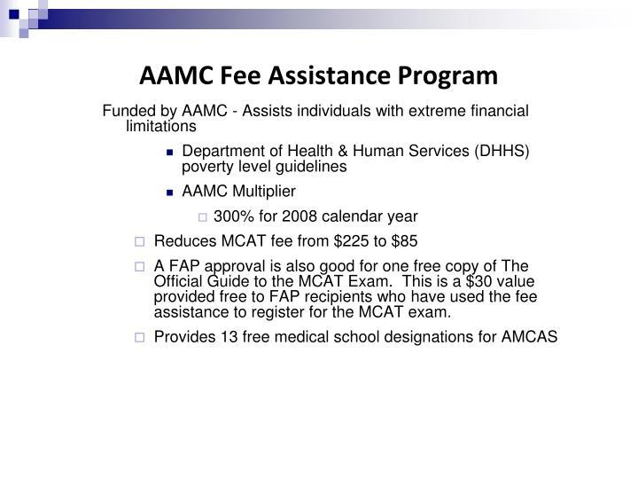 AAMC Fee Assistance Program