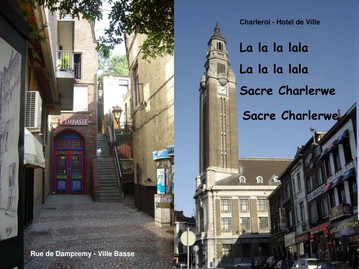 Charleroi - Hotel de Ville