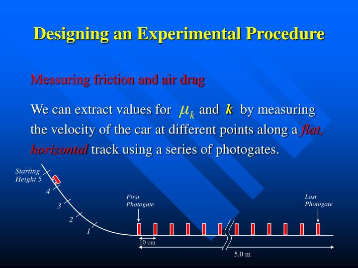 Designing an Experimental Procedure