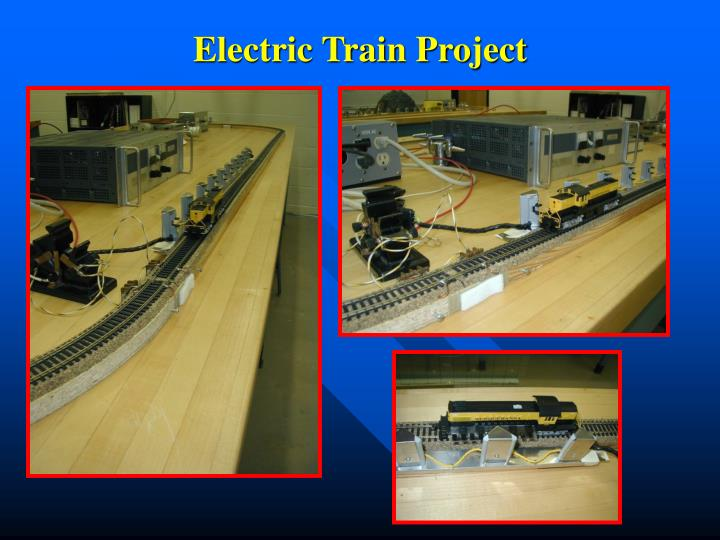 Electric Train Project