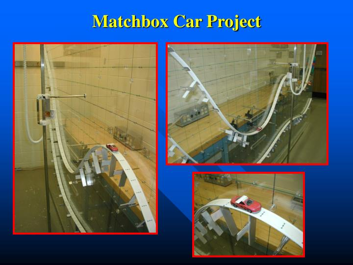 Matchbox Car Project