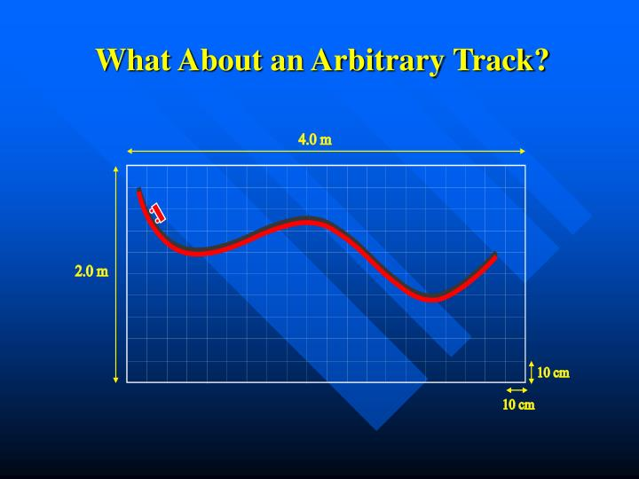 What About an Arbitrary Track?