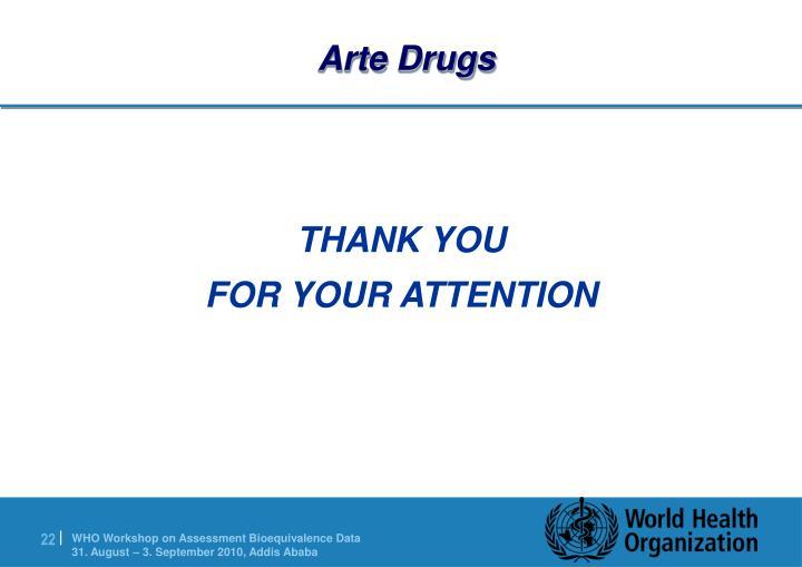 Arte Drugs