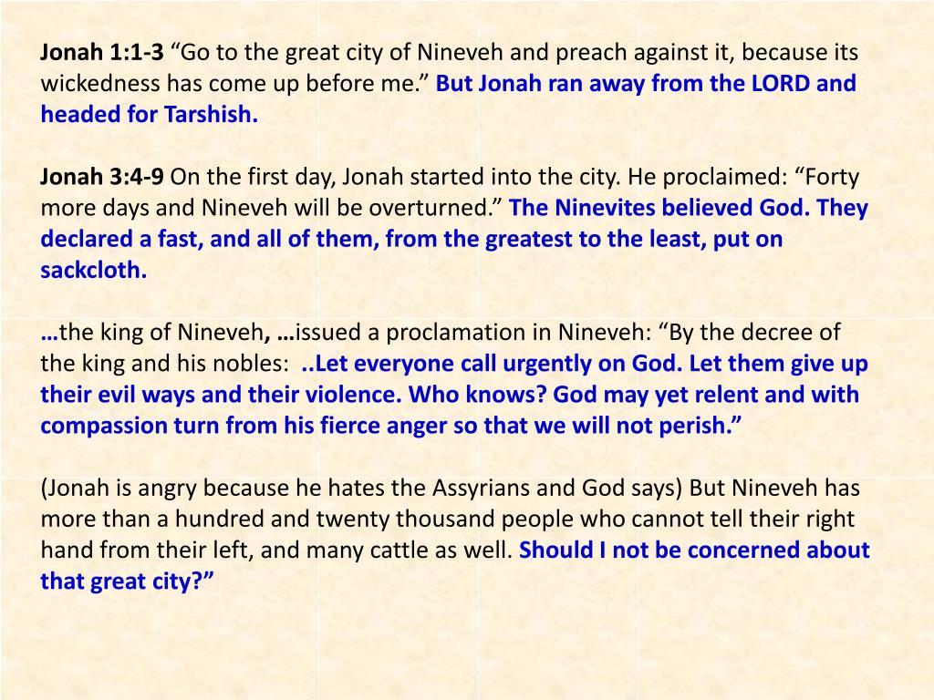 Jonah 1:1-3