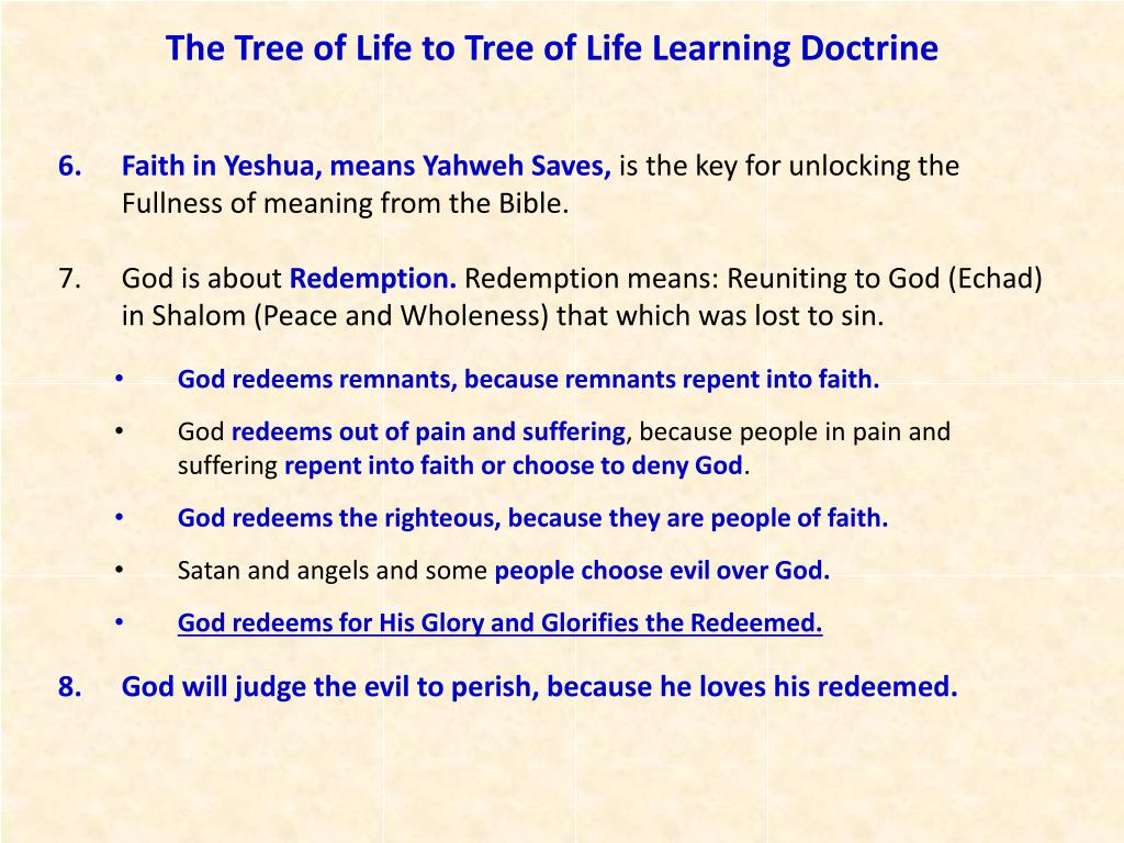 Faith in Yeshua, means Yahweh Saves,