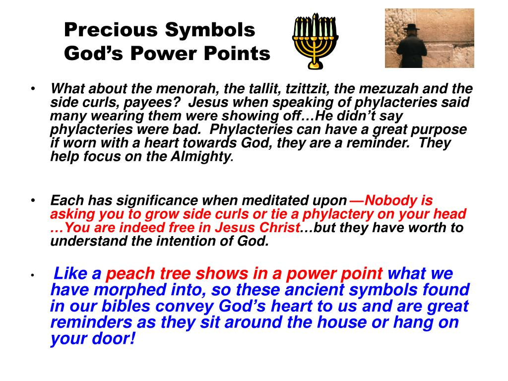 Precious Symbols