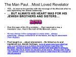 the man paul most loved revelator