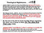 theological nightmares