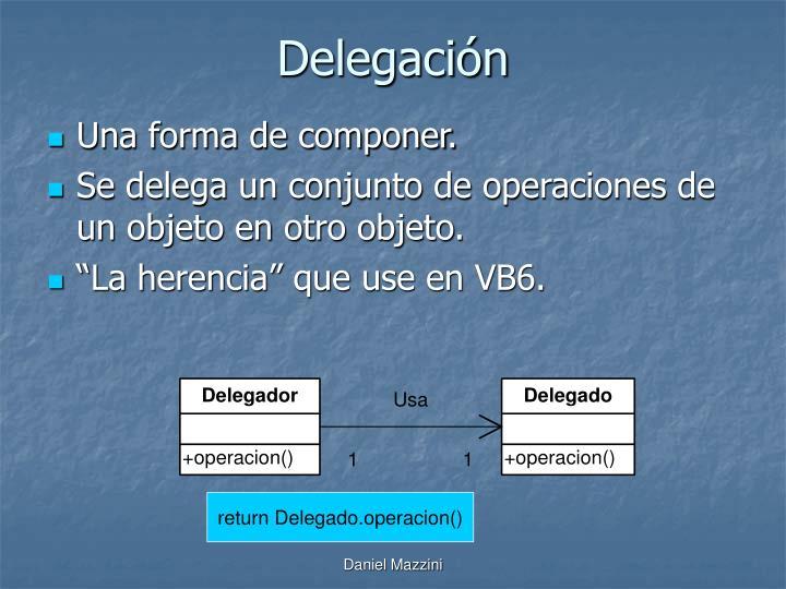 Delegación