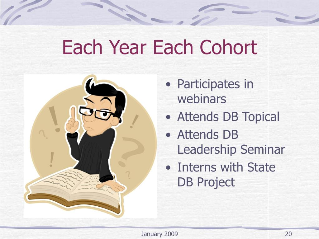 Each Year Each Cohort