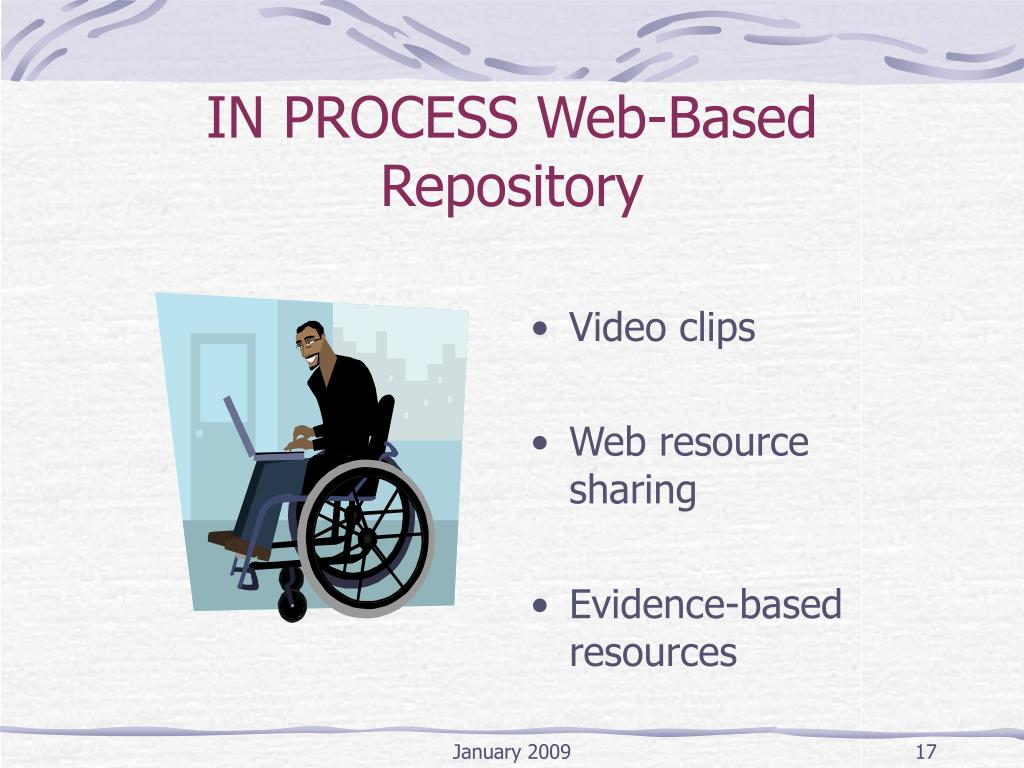 IN PROCESS Web-Based Repository