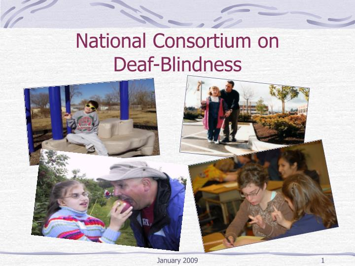 National consortium on deaf blindness
