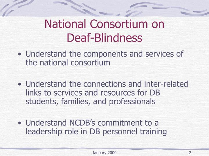 National consortium on deaf blindness2