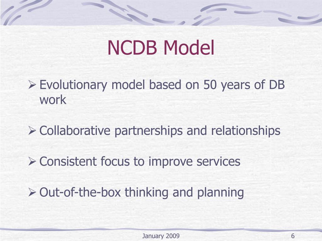 NCDB Model