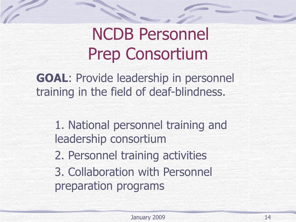 NCDB Personnel
