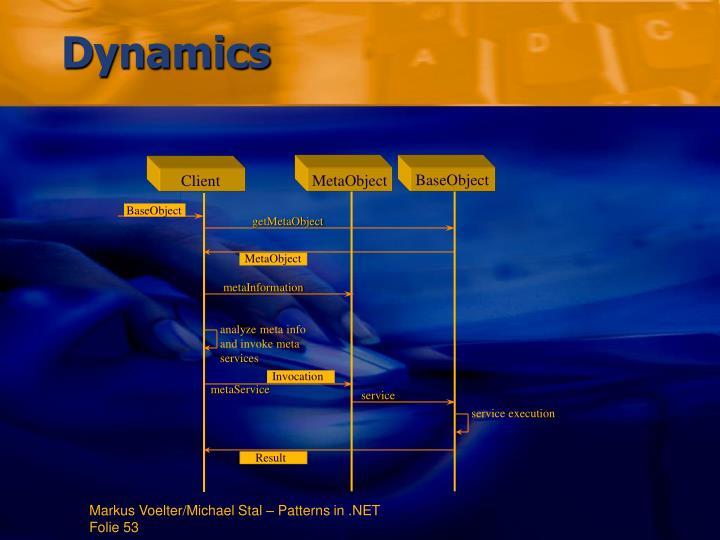 analyze meta info and invoke meta services