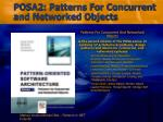posa2 patterns for concurrent and networked objects