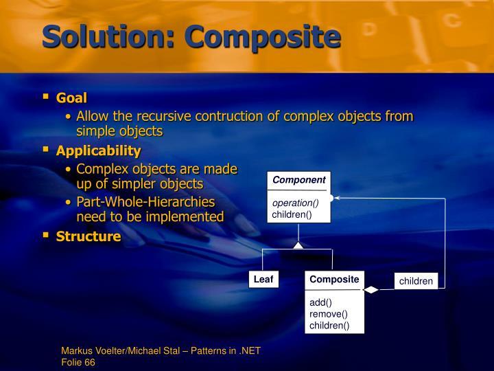 Solution: Composite