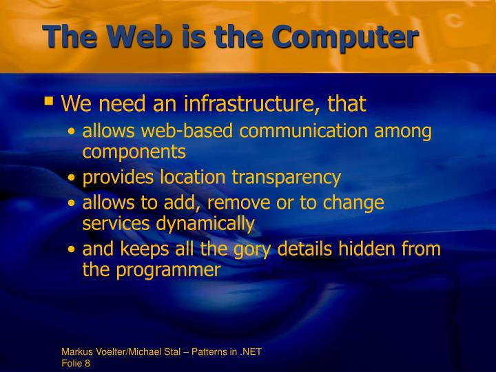 The Web is the Computer