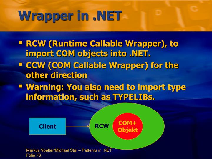 Wrapper in .NET