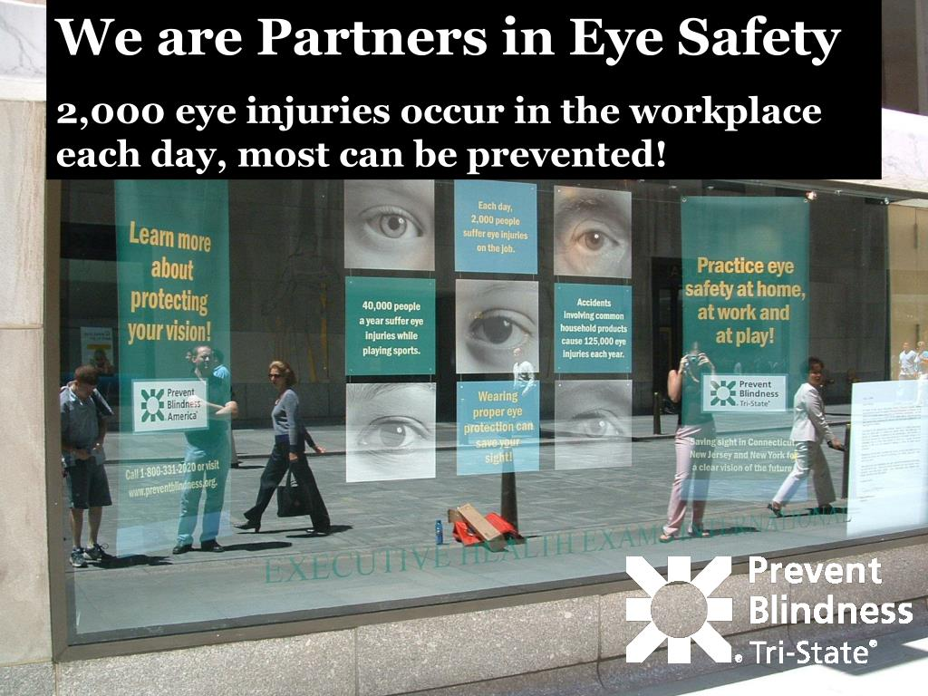 We are Partners in Eye Safety
